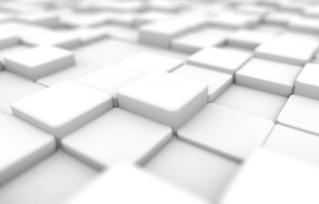Weiße perspektive block