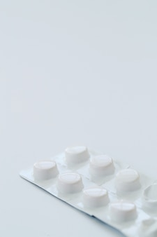 Weiße pillen