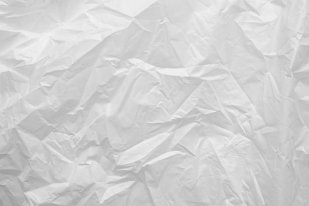 Weiße plastiktüte hintergrundbeschaffenheit schließen