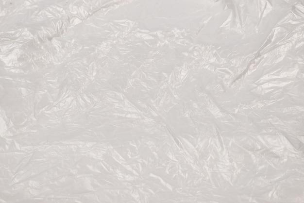 Weiße plastikwand. draufsicht. speicherplatz kopieren.
