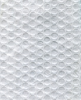 Weiße polyethylenbeschaffenheit im kreis