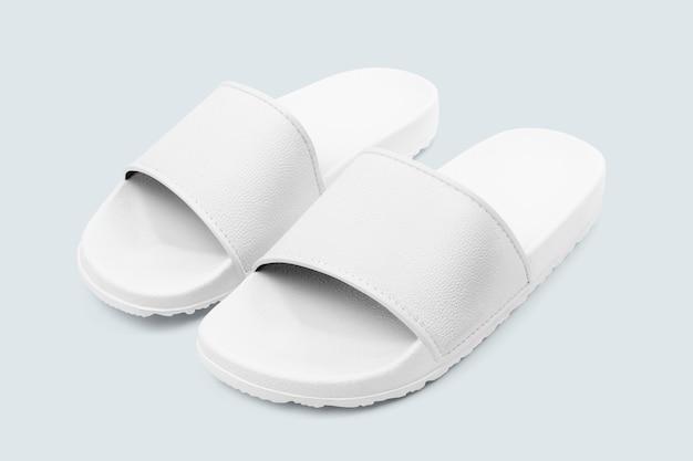 Weiße sandalen sommerschuhe mode