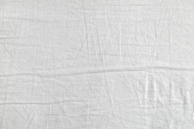 Weiße stoffstruktur. kleidung hintergrund. nahansicht