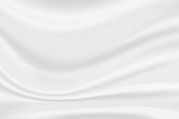Weiße stoffstruktur