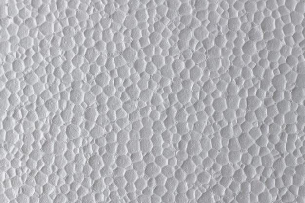 Weiße styroporplatte polystyrol closed cells flat surface texture