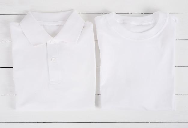 Weiße t-shirts