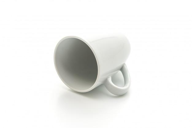 Weiße tasse