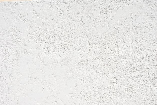 Weiße textur der putzwand, schicht des betonwandputzes.