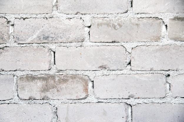 Weiße ziegelmauer textur