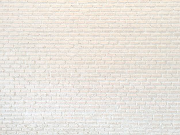 Weiße ziegelsteine und konkrete beschaffenheit für musterzusammenfassungshintergrund.