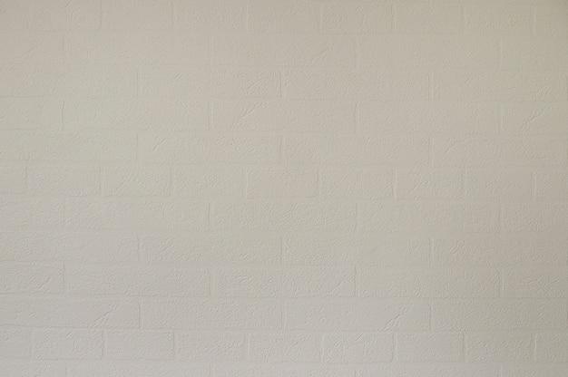 Weiße ziegelsteintapeten-hintergrundbeschaffenheit