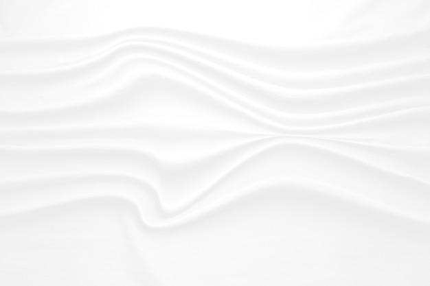 Weißer abstrakter hintergrund und grauton, weiche stoffwelle, die sich mit modernem schattenkonzept überlappt, platz für text- oder nachrichtenweb und buchdesign