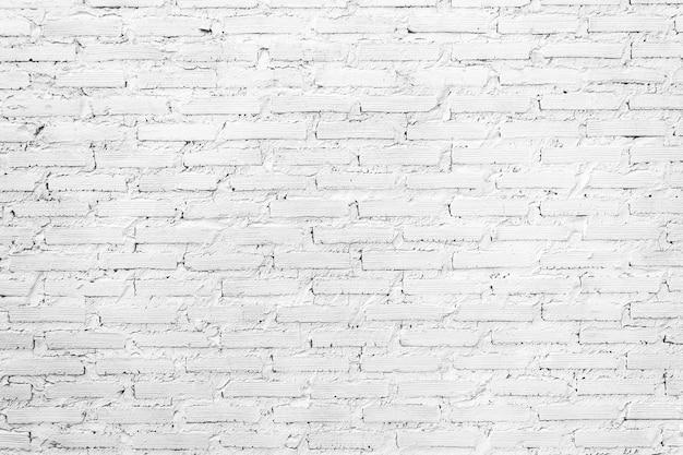 Weißer backsteinmauerweinlesebeschaffenheitshintergrund.