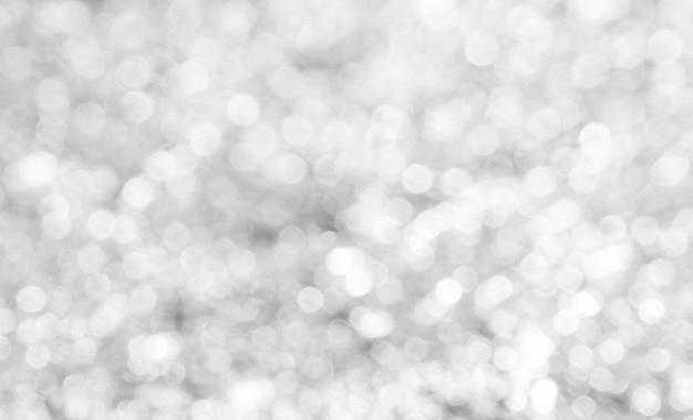 Weißer bokeh abstrakter hintergrund