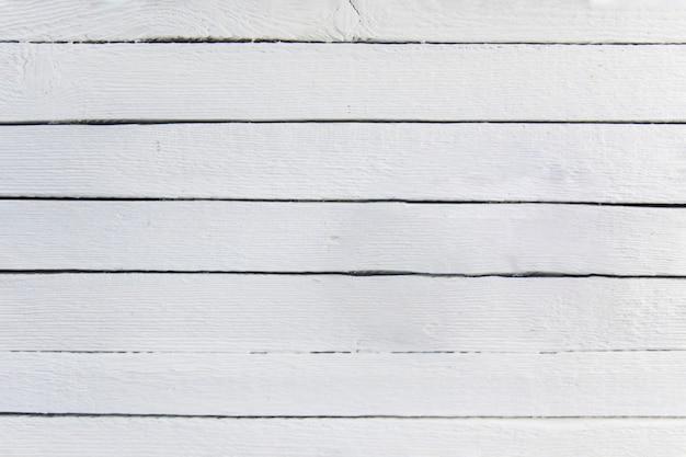 Weißer gemalter hölzerner strukturierter plankenhintergrund