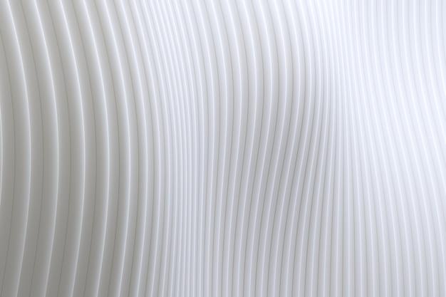 Weißer hintergrund der abstrakten wandwellenarchitektur, weißer hintergrund für präsentation, portfolio, website