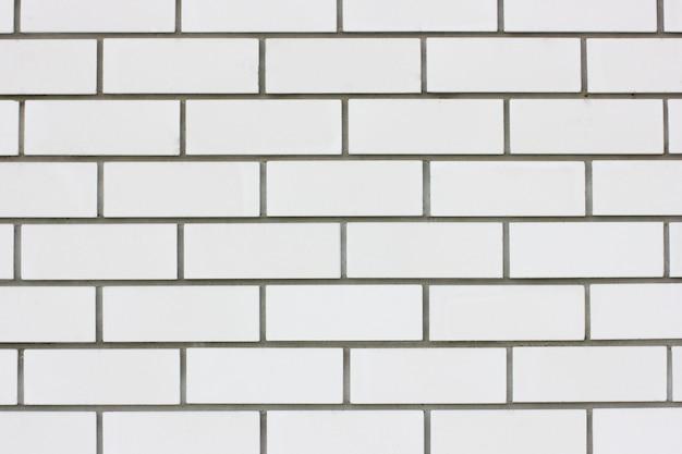 Weißer hintergrund eine wand aus weißem ziegelstein