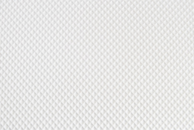 Weißer karierter musterhintergrund für waffel- oder formgummiboden