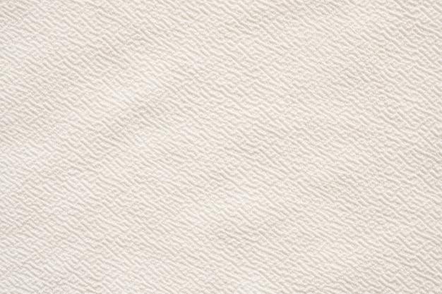 Weißer kleidungsstoff-texturmusterhintergrund