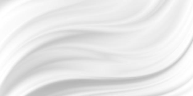 Weißer kosmetischer cremetexturhintergrund
