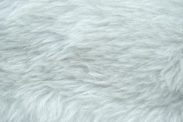 Weißer kunstgurt zum schutz vor windgeräuschen.