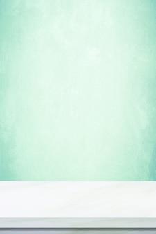 Weißer marmortischhintergrund, steintischplatte für küchenproduktanzeige