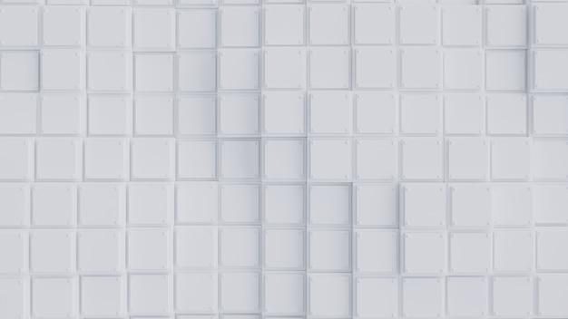 Weißer quadratischer hintergrund