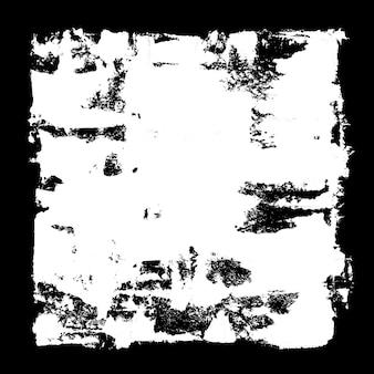 Weißer quadratischer rahmen - abstrakter grunge-hintergrund