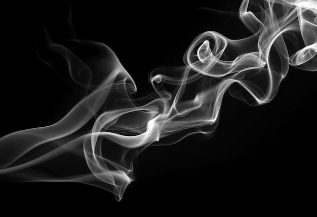 Weißer rauch abstrakt