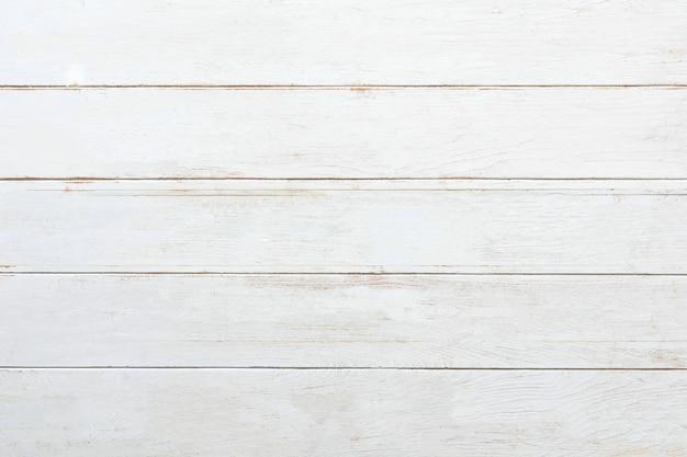 Weißer rustikaler holzplattenhintergrund