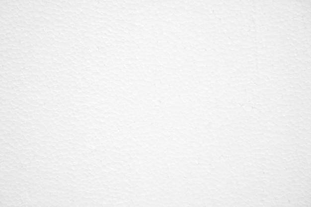Weißer schaumstoffplattenbeschaffenheitshintergrund, leerer raum.
