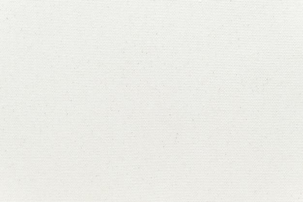 Weißer segeltuchbeschaffenheitshintergrund. nahansicht.