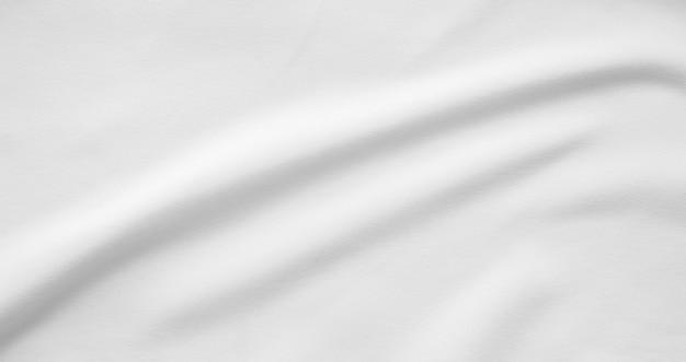 Weißer stoff glatter texturoberflächenhintergrund