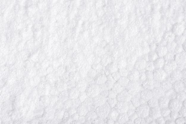 Weißer, strukturierter schaum, styroporhintergrund