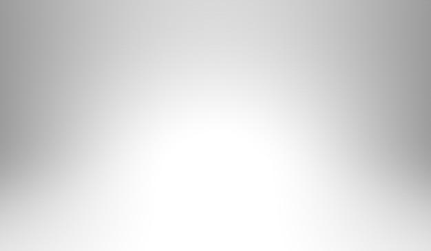 Weißer und grauer abstrakter farbhintergrund. 3d-rendering