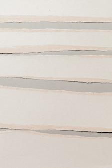 Weißer zerrissener papierhintergrund