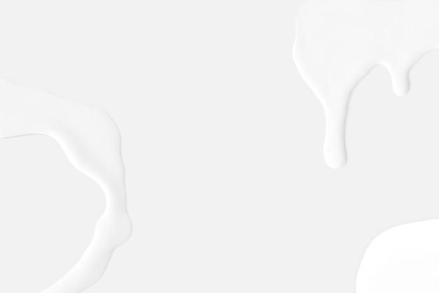 Weißes abstraktes tapetenbild