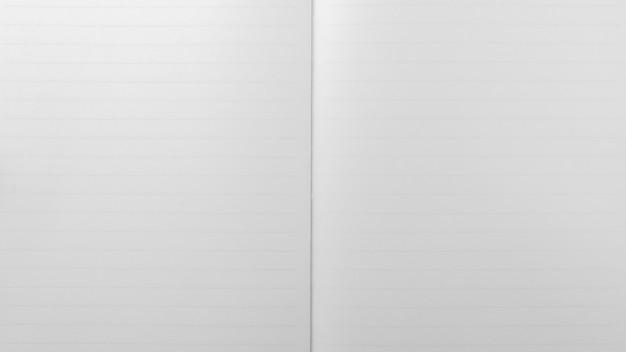 Weißes gezeichnetes blatt notizblock. - papierhintergrund.