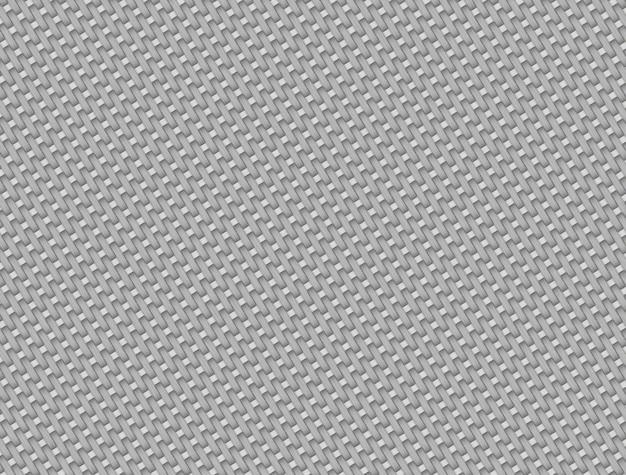 Weißes kohlefasermuster