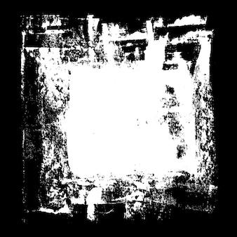 Weißes quadrat - abstrakter grunge-hintergrund