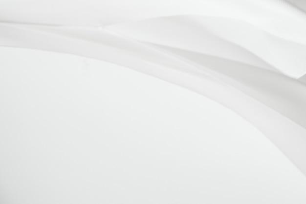 Weißes stoffstruktur-gestaltungselement