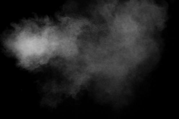 Weißpulver explosion hintergrund