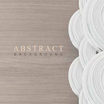 Welle acryl abstrakter hintergrundvektor