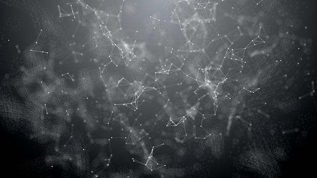 Welle von plexuspartikeln