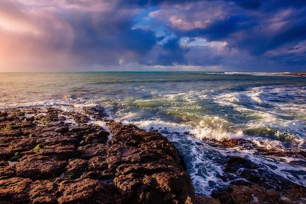 Wellen auf der seelandschaft