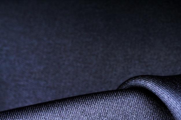 Wellenformen der dunklen polyestergewebestruktur