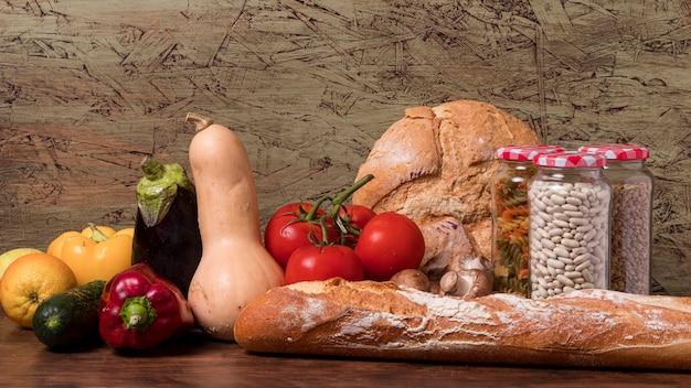 Welternährungstag feier mit ernte