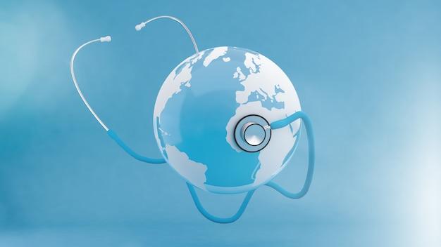Weltgesundheitstag konzept