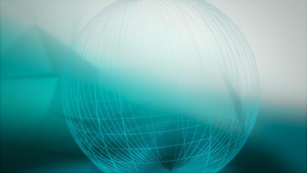 Weltkarte abstrakten hintergrund. eleganter dynamischer stil für unternehmen, 3d-illustration