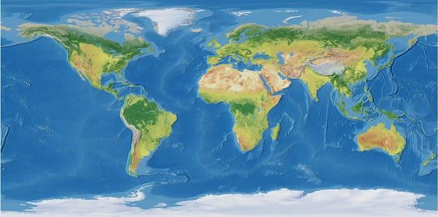 Weltkarte wandmalerei